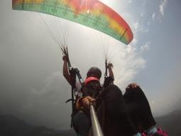 Paragliding at Billing