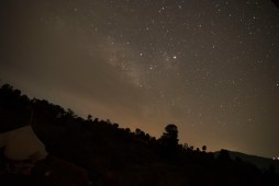 Star gazing at Bir