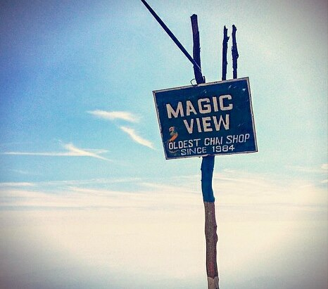 The Magic View Café