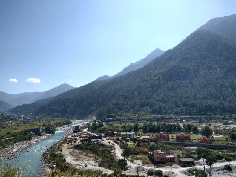 On our way to Barsu(Gangotri Road)