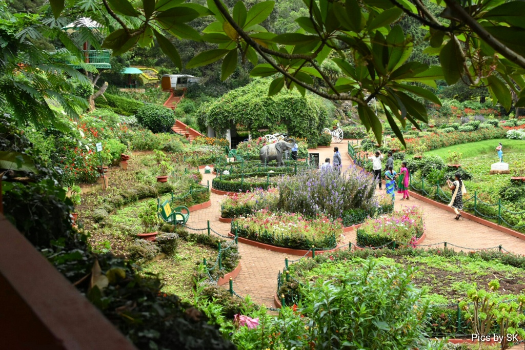 Botanical Garden from all above