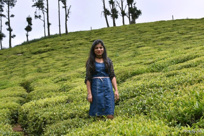 Among the tea gardens of Coonoor