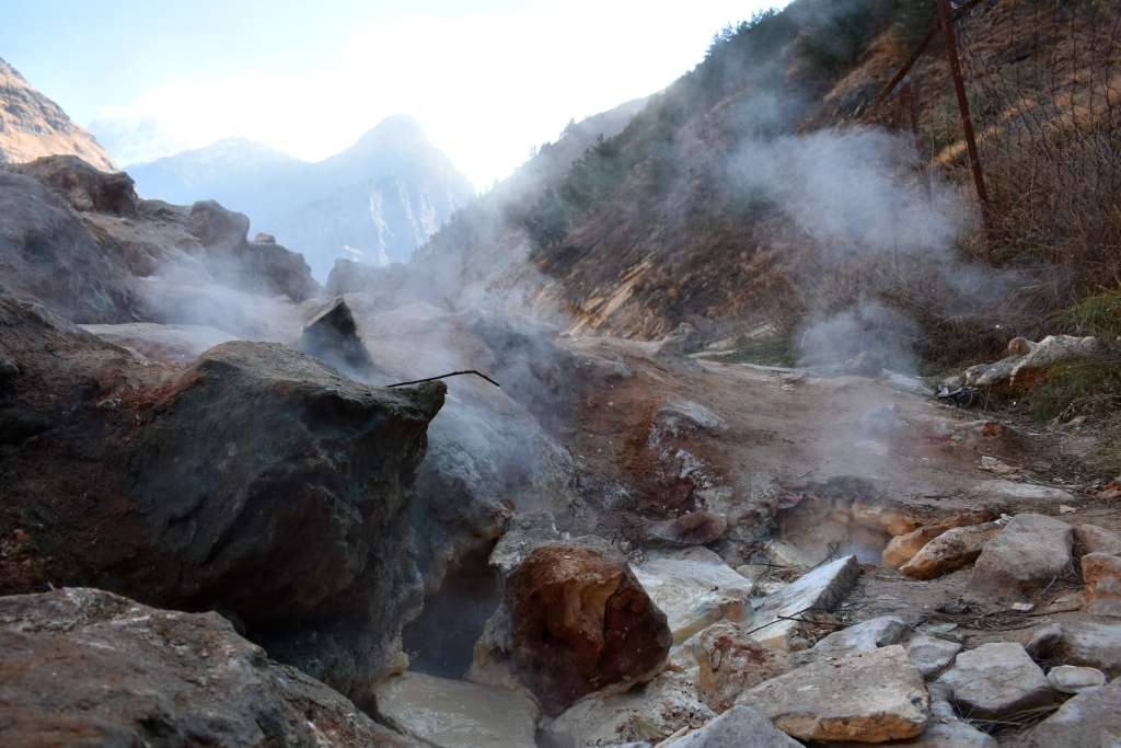 Hot Spring, Tapovan