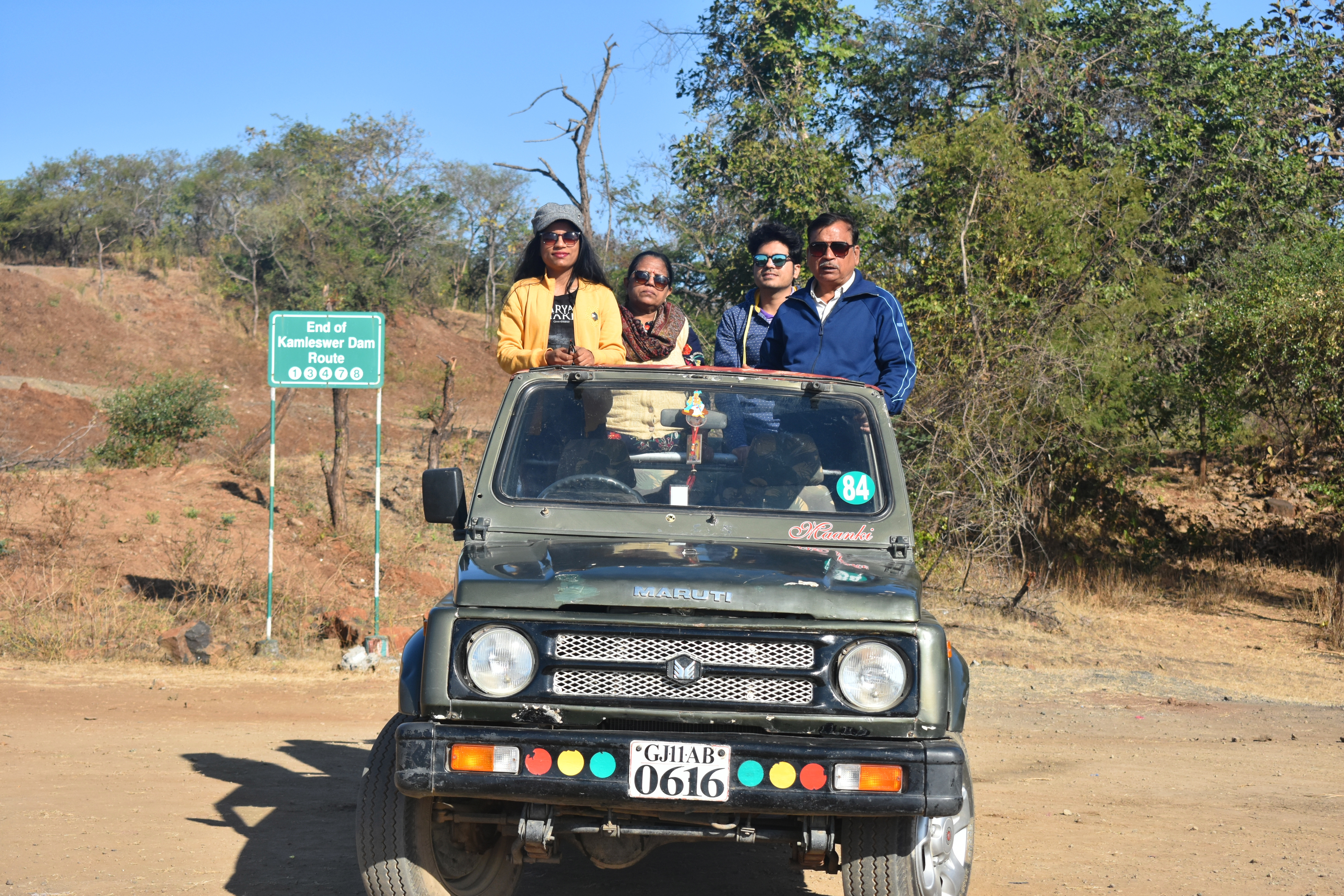Lion Safari at Gir