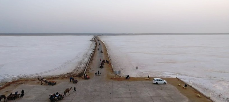 Rann of Kutch from all above