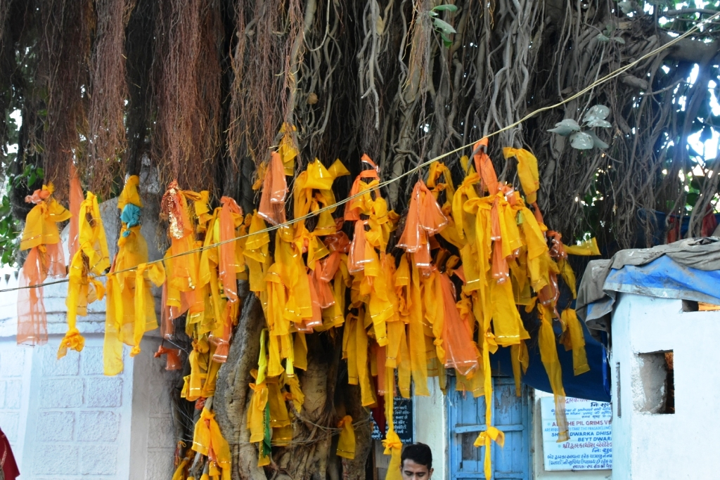 Sacred threads at bet Dwarka