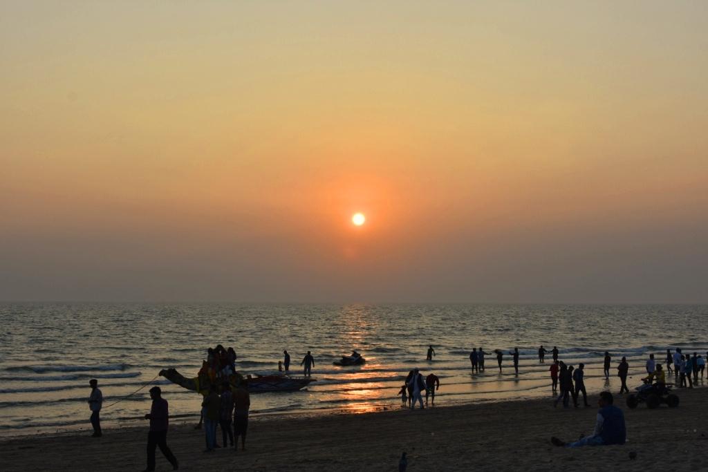 Sunset@mandvi
