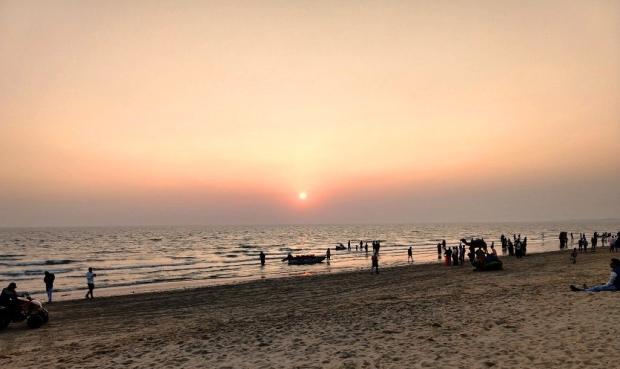 Sunset at Mandvi Beach