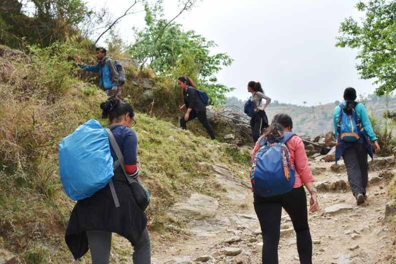 Here, we start our Trek to Nag Tibba
